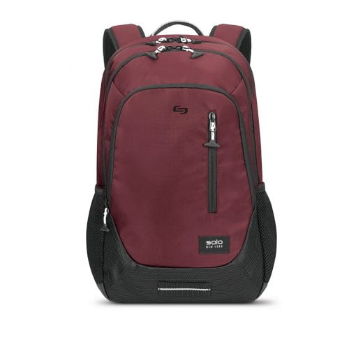 SOLO NY REGION BACKPACK BURGUNDY 15.6