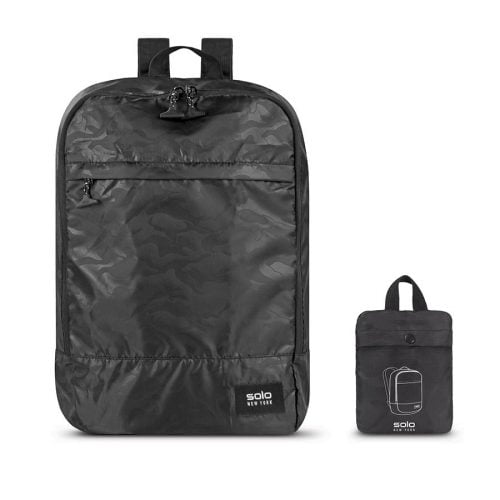 SOLO PACKABLE BACKPACK BLACK