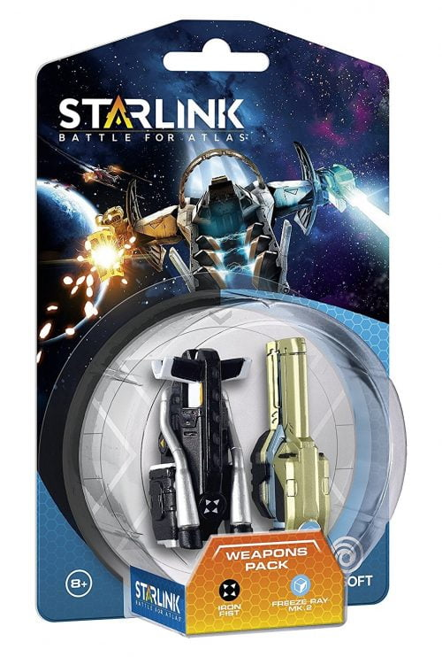 Starlink Weapon Pack: Iron Fist & Freeze Ray