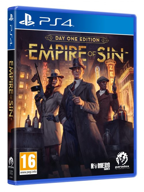 Empire of Sin - Day One Edition (PS4)