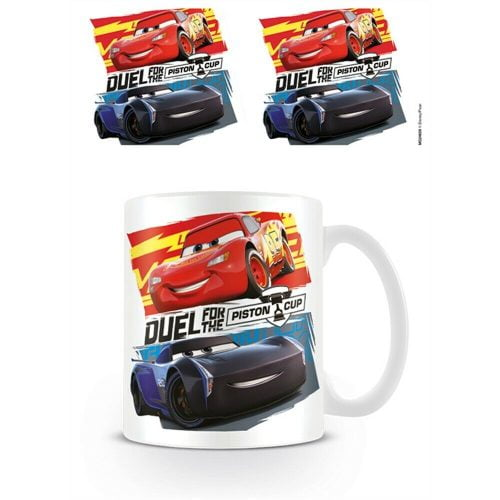 CARS 3 - DUEL FOR THE PISTONS SKODELICA PYRAMID