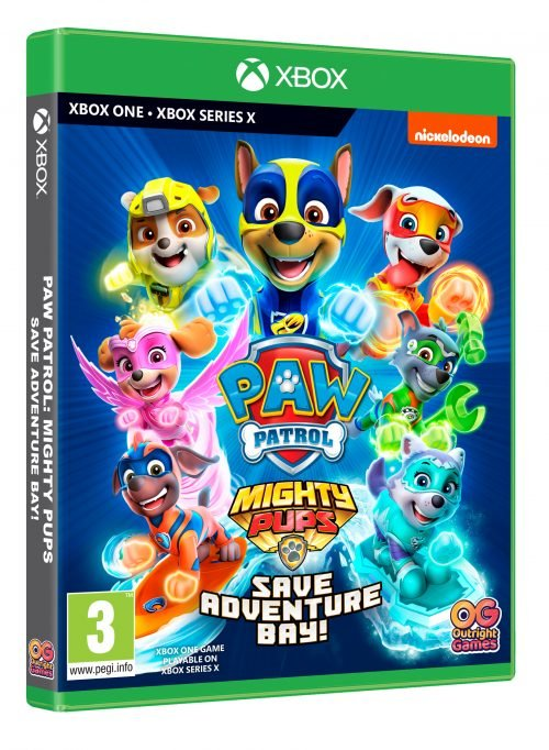 PAW Patrol: Mighty Pups Save Adventure Bay (Xbox One & Xbox Series X)