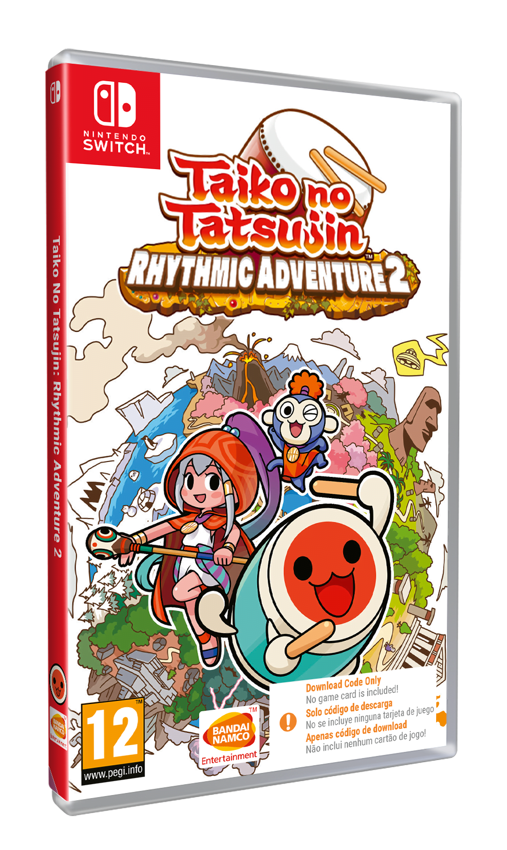 Taiko no Tatsujin: Rhythmic Adventure 2 (CIAB) (Nintendo Switch)