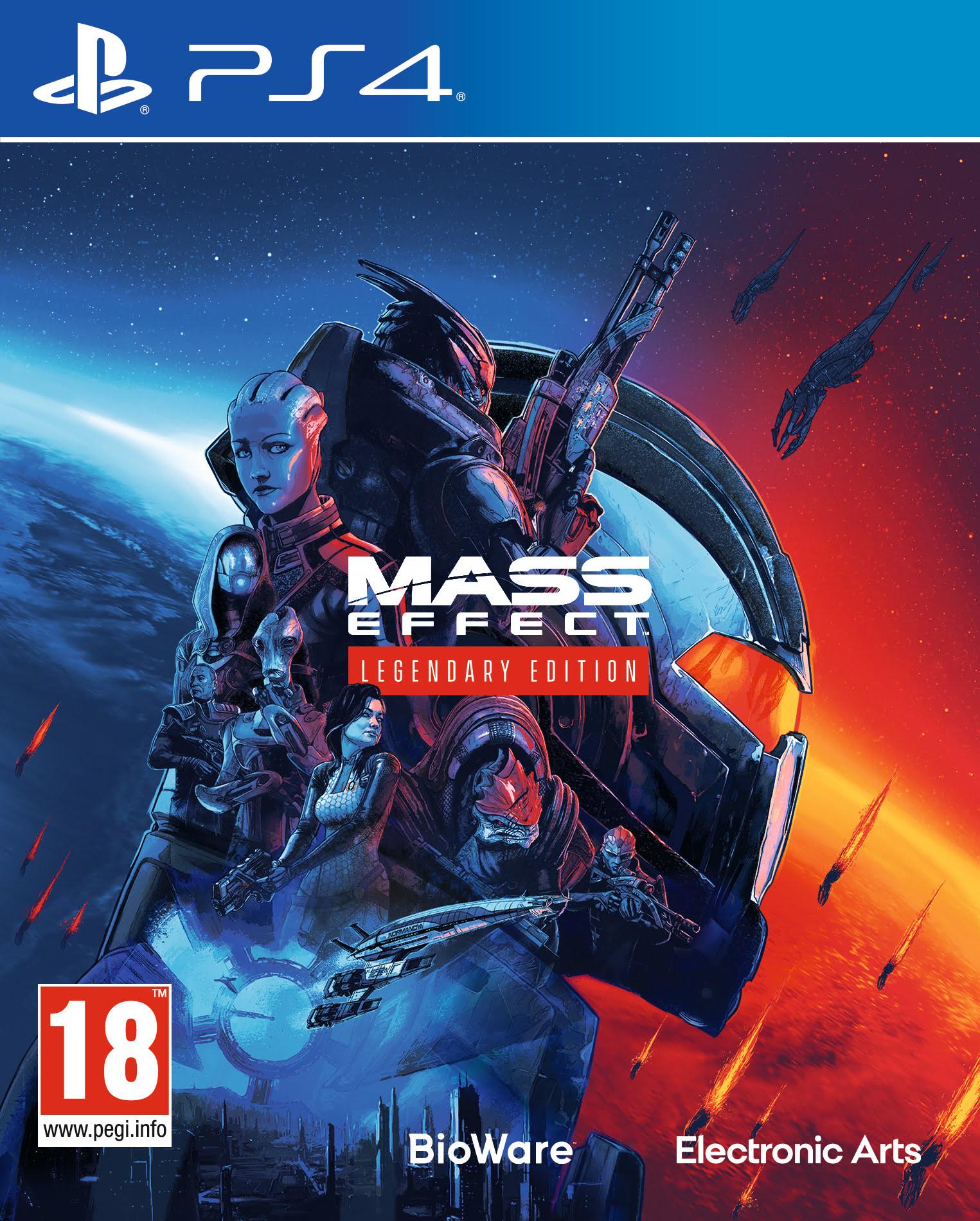 Mass Effect Trilogy - Legendary Edition (PS4)
