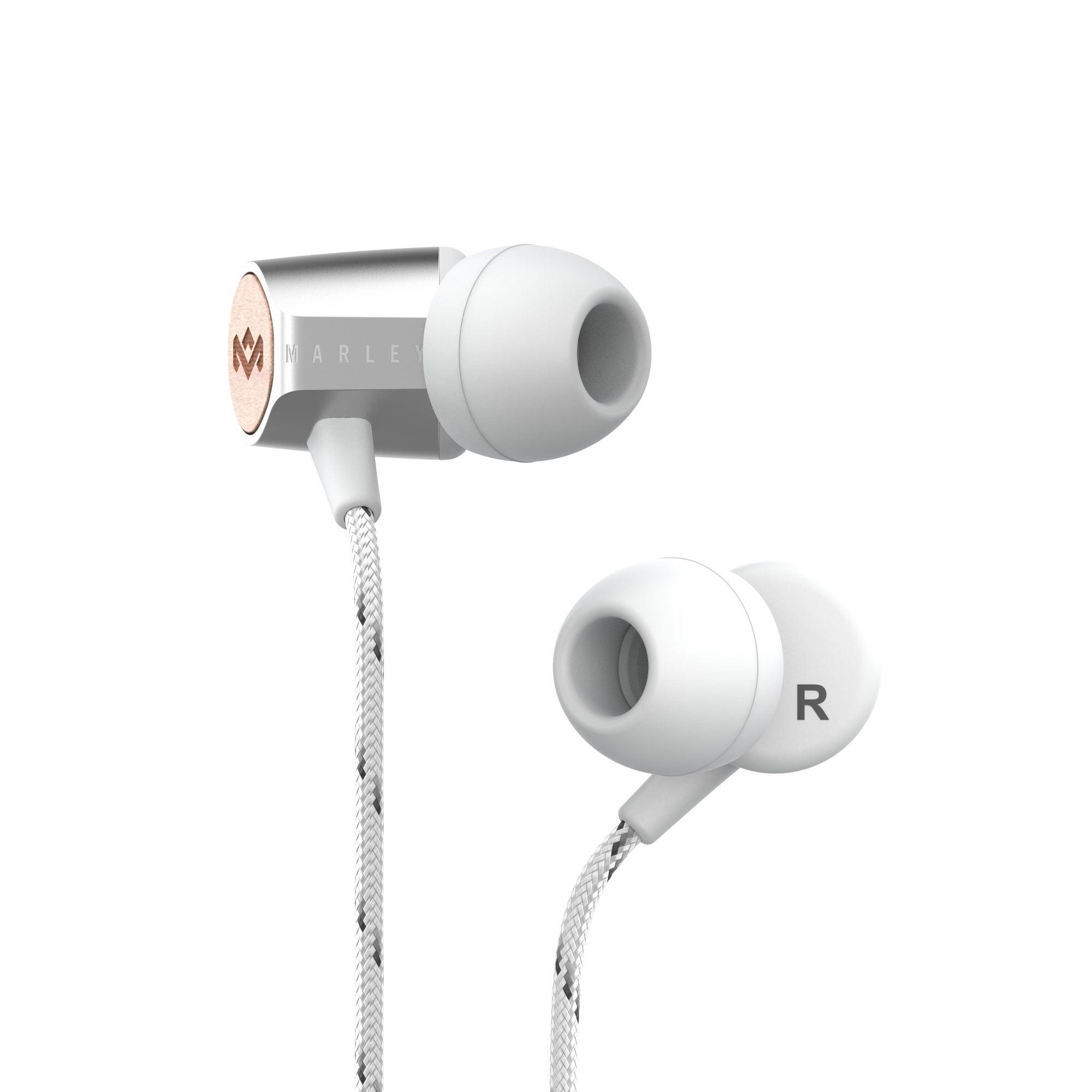 House of Marley Uplift 2.0 ušesne slušalke - srebrne barve