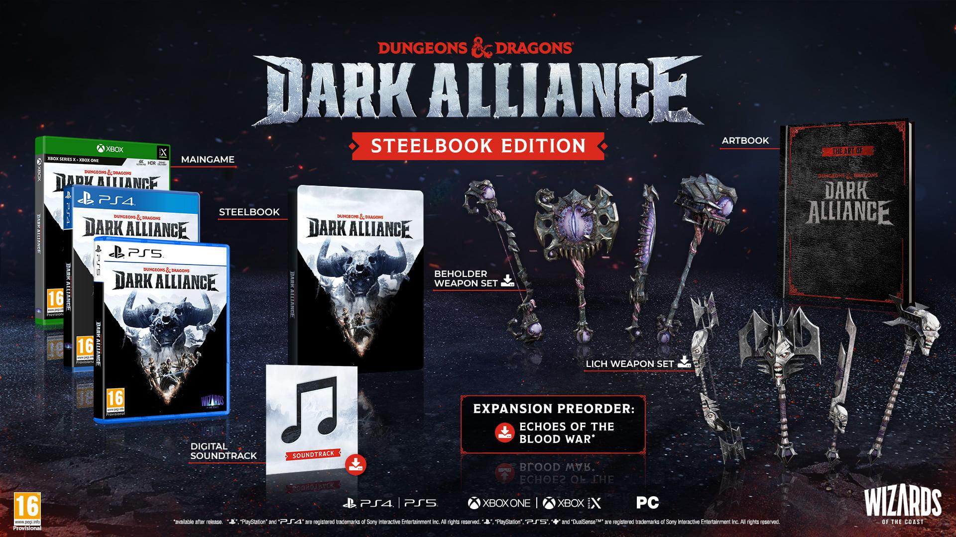 Dungeons and Dragons: Dark Alliance - Steelbook Edition (PS4)