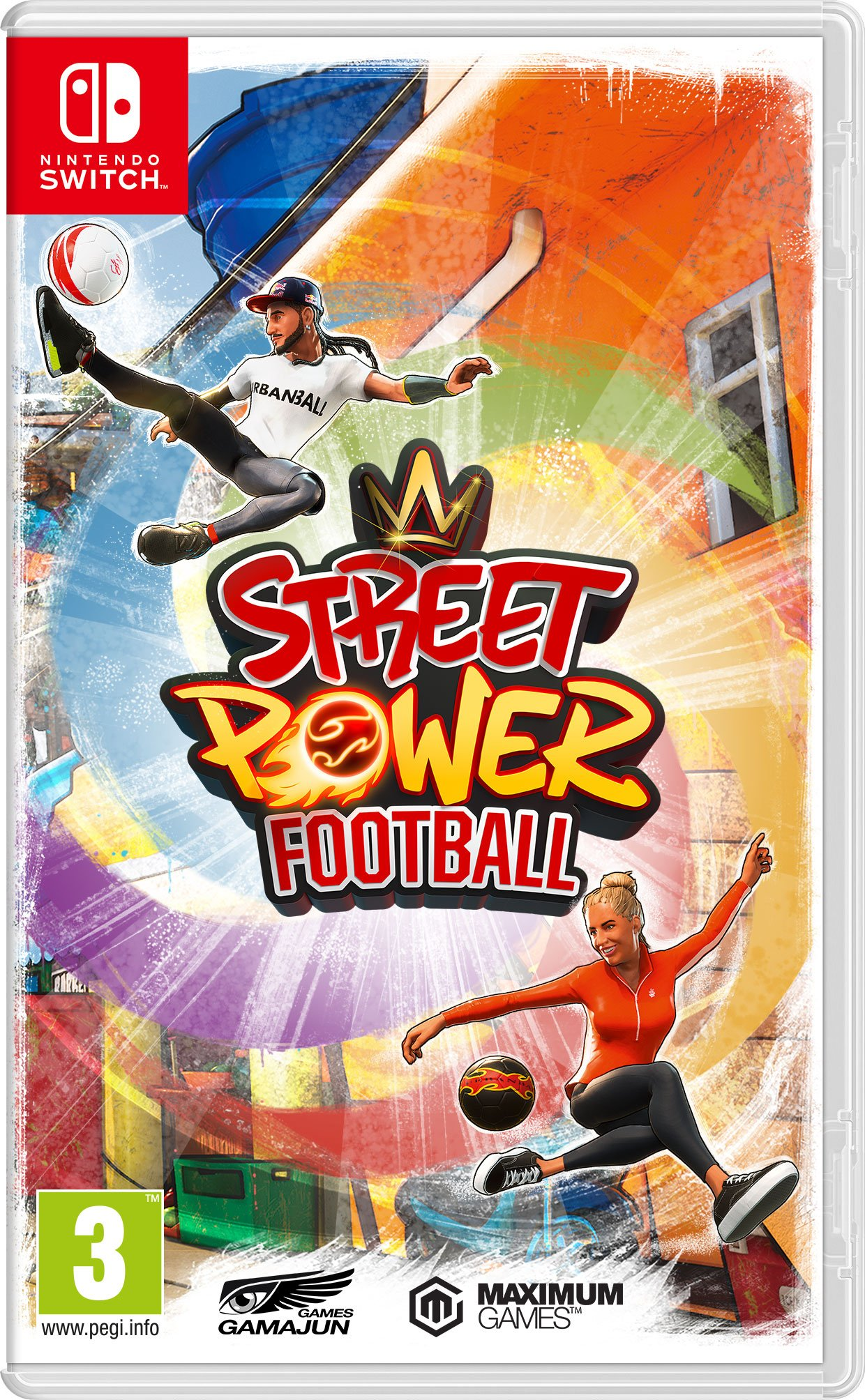 Street Power Football (Nintendo Switch)