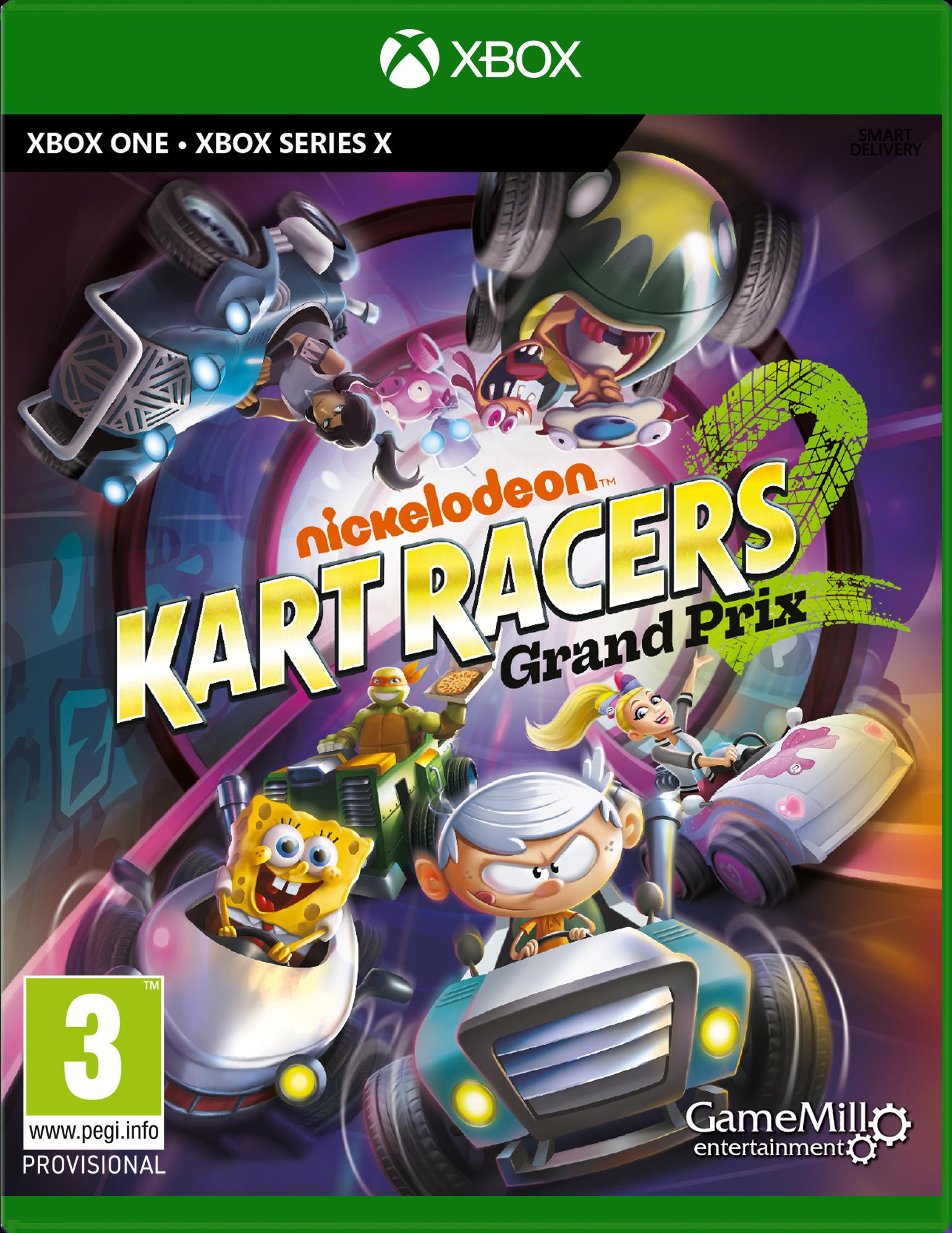 Nickelodeon Kart Racers 2: Grand Prix (Xbox One & Xbox Series X)