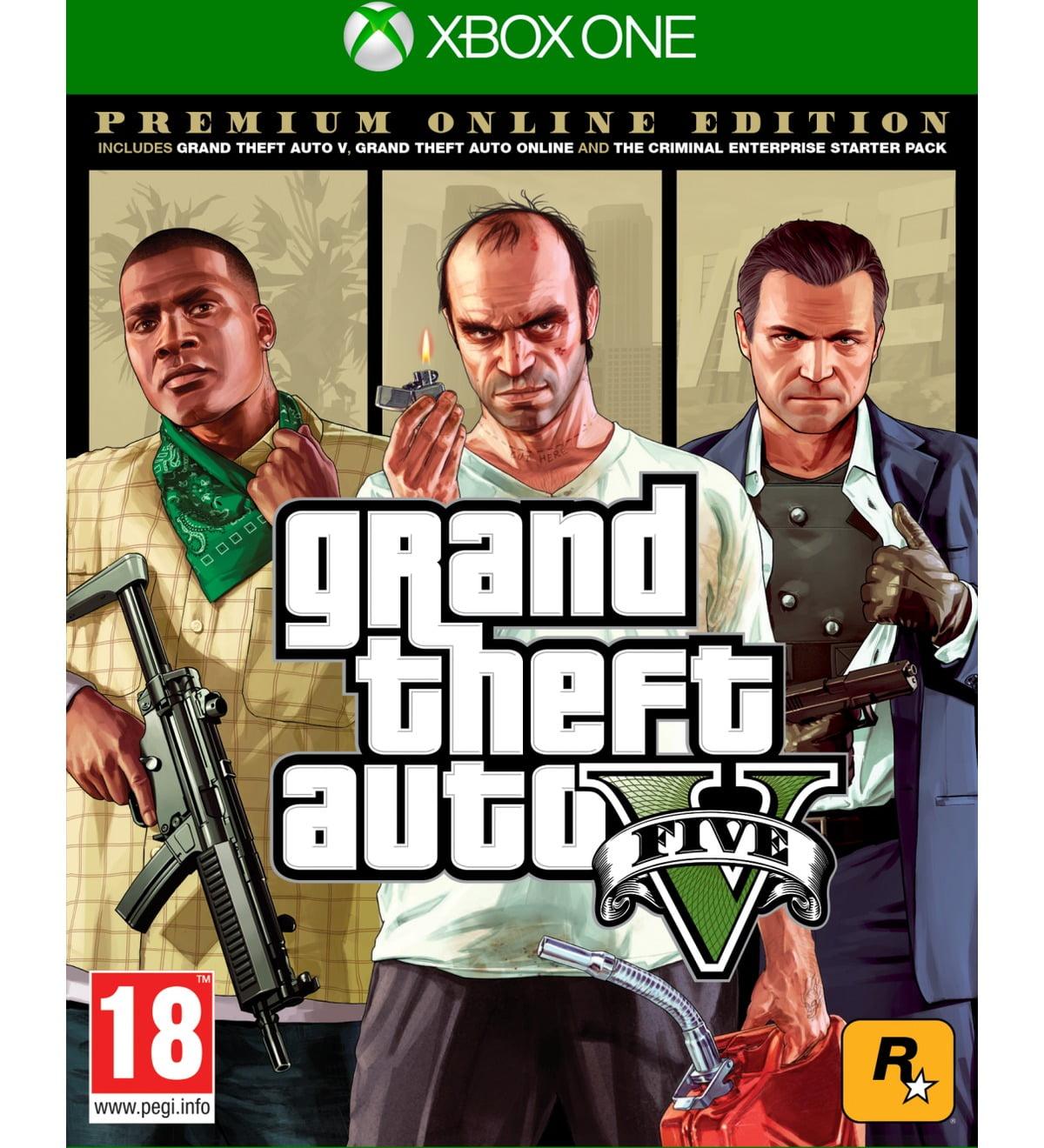 Grand Theft Auto V - Premium Online Edition (Xone)