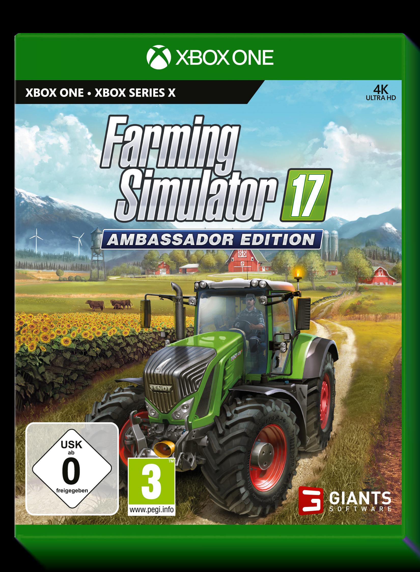 Farming Simulator 17 - Ambassador Edition(Xbox One & Xbox Series X)
