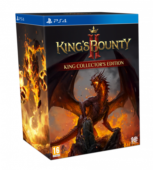 King's Bounty II - King Collector's Edition (PS4)